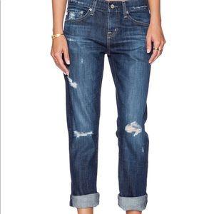 AG jeans ex-boyfriend slim slouchy 10 Y parched 27